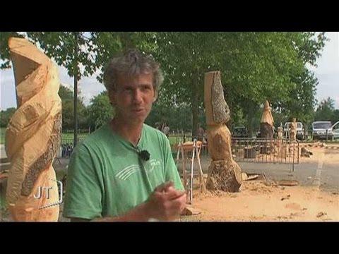 sculptures sur bois foussais payr youtube. Black Bedroom Furniture Sets. Home Design Ideas