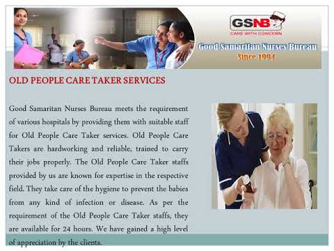 Nursing Care Service at Home/ Hospital in Pune - Good Samaritan Nurses Bureau