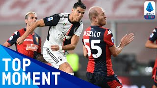 CR7 Adds Another Screamer to his Goals Collection | Genoa 1-3 Juventus | Top Moment | Serie A TIM