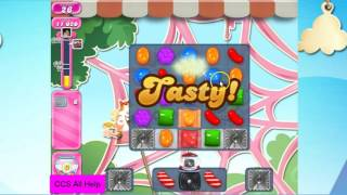 Candy Crush Saga Level 2405 NO BOOSTERS Cookie 5 moves!