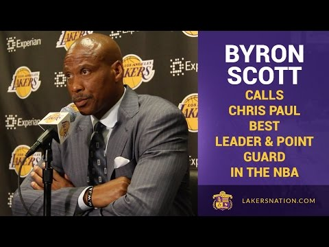 Byron Scott Calls Chris Paul Best Leader & Point Guard In NBA