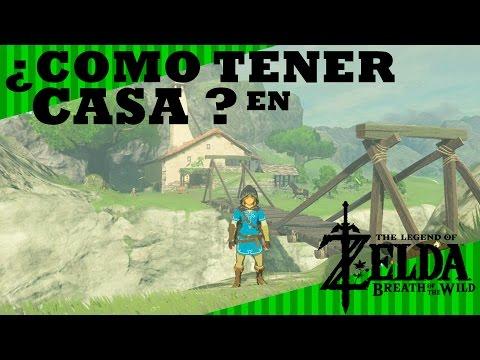 Com tener casa en zelda breath of the wild guia youtube for Decorar casa zelda breath