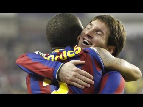 Alves y cómo lo suyo con Messi fue amor a primera vista