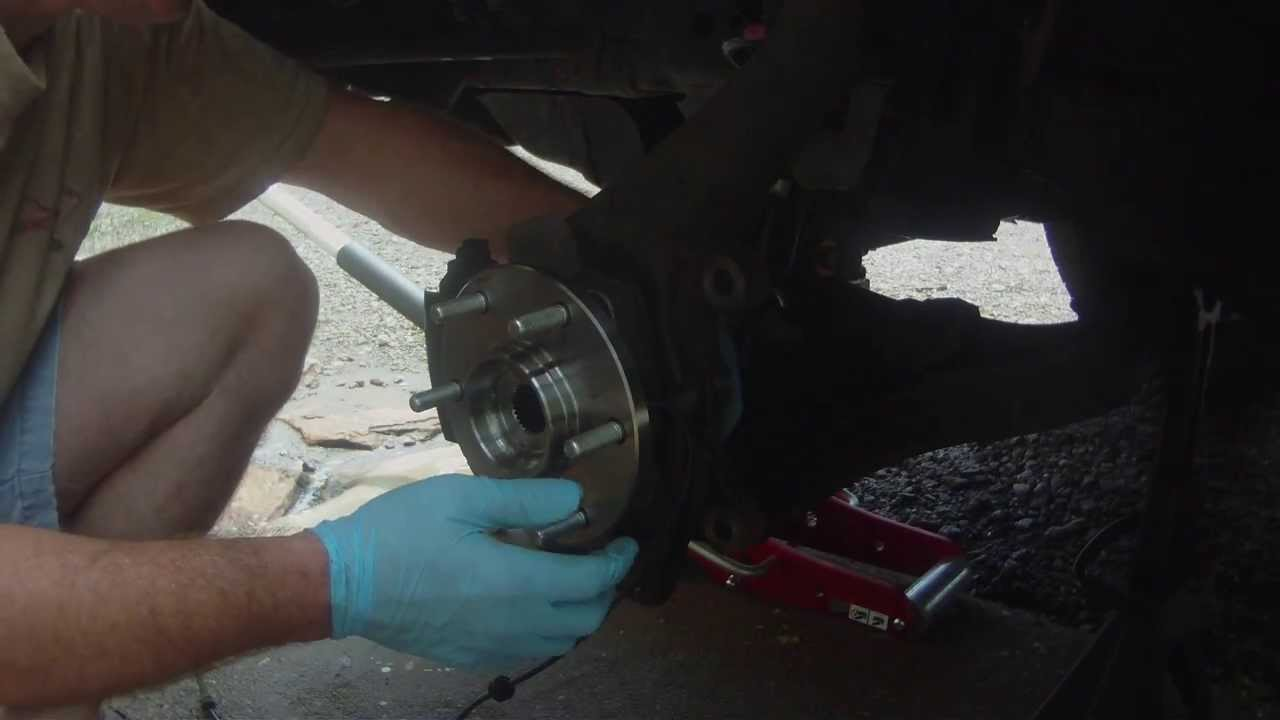 2004 Nissan Titan Front Wheel Bearing Youtube