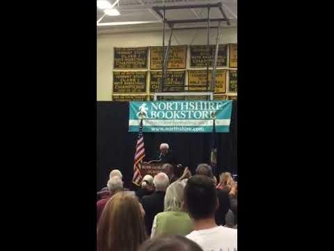 Bernie Sanders comes to Burr and Burton Academy