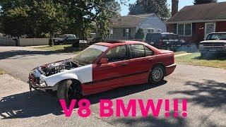 V8 E36 Hits The Streets! Something Already Exploded...