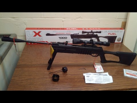Umarex Fuel  .22 Cal Gas Spring Pellet Rifle Review, 3 Yr Warranty!