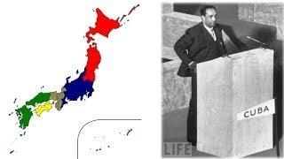 日本の分割統治を防いだ、スリランカ代表の神演説