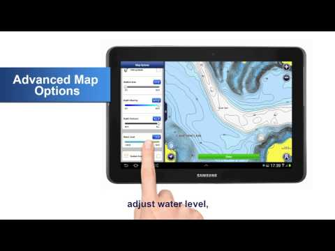 Advanced Map Options On Android Navionics Boating 2015