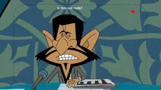Mahmoud Ahmadi Nejad  Election Debate  Iran President 2009 Cartoon