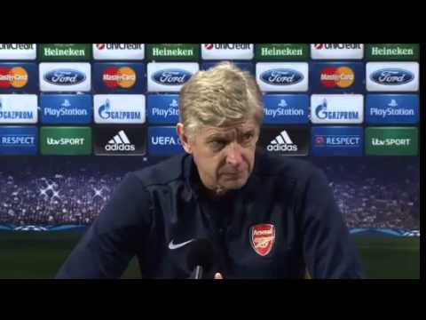 Arsenal v Marseille : Wenger & Ramsey Pre Match Press Conference