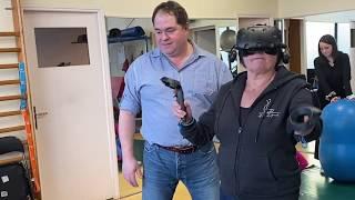 Michèle, 70 ans, patiente avec une prothèse d'épaule