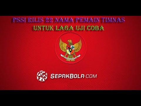 PSSI Rilis 22 Nama Pemain Timnas Senior Untuk 2 Laga Uji Coba