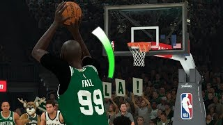 NBA 2K20 Tacko Fall My Career - Greening Threes!