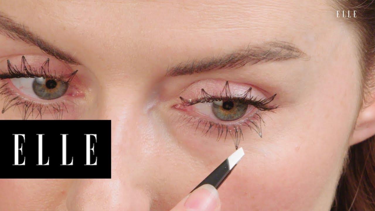 Inverted Eyelashes Beauty Bites Elle Youtube