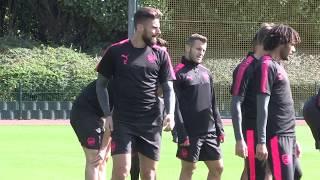 Arsenal prepare for Europa League opener