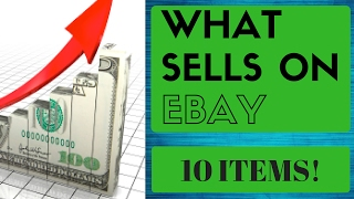 What sells on ebay - 10 great items for selling on ebay