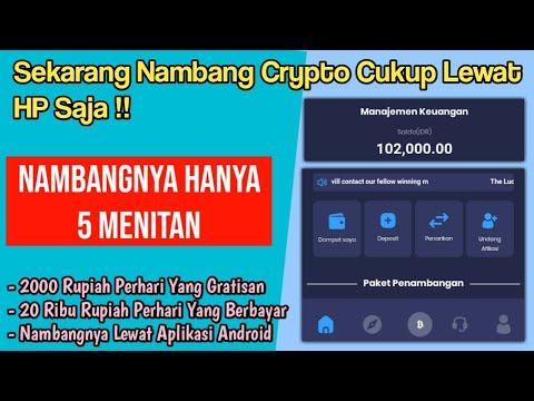 Keren Nih : Nambang Btc Lewat Hp Android Langsung Di Convert Ke Rupiah !! Aplikasi Mining Bitcoin