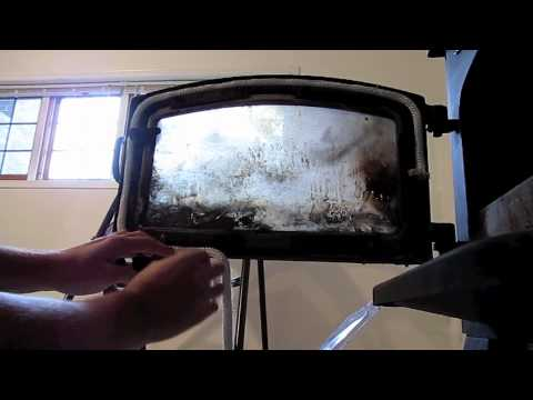 wood stove gasket replacement  YouTube