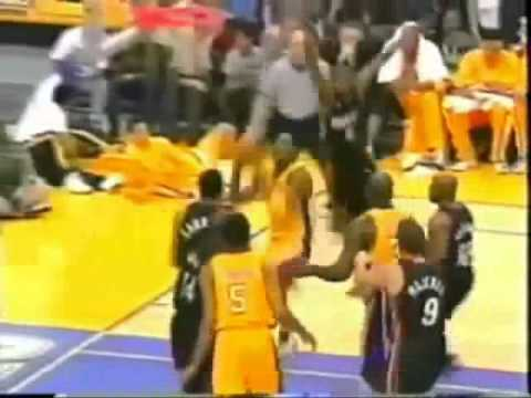 05dbaba2898c Kobe Bryant Dunks on Duane Causwell (Rare - 2001 Regular Season vs. Miami  Heat)