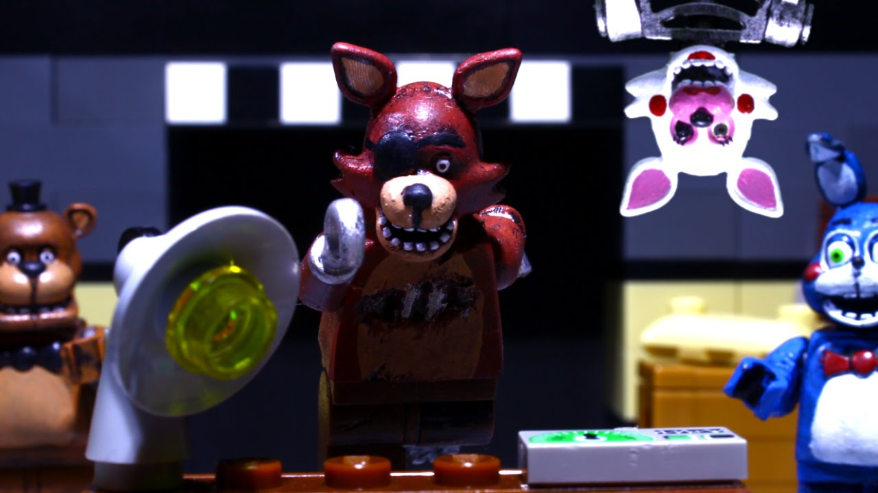 Lego 5 Nights At Freddy S Toys : Lego five nights at freddy s youtube