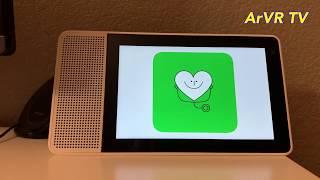 مساعد جوجل الذكي المرئي من لينوفو - فتح واستعراض الميزات Lenovo Smart Display