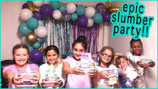 my-first-sleepover-for-my-9th-birthday-party-slime-party