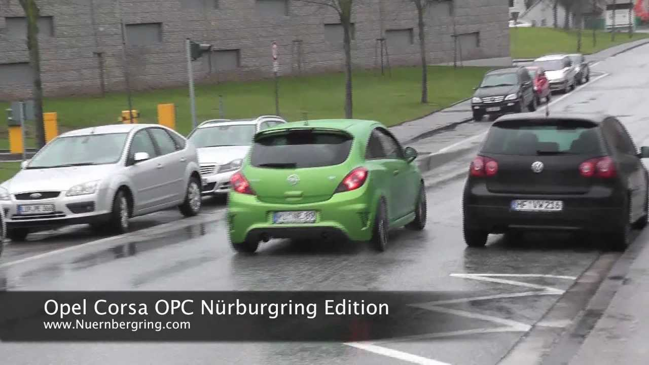 corsa opc n rburgring edition drive by youtube. Black Bedroom Furniture Sets. Home Design Ideas