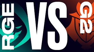 RGE vs. G2 - Week 2 Day 2 | LEC Summer Split | Rogue vs. G2 Esports (2021)
