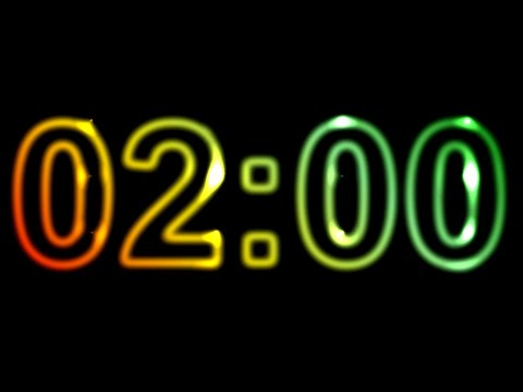 2 Minute Timer ⏰🔔 Countdown 2 Minutes