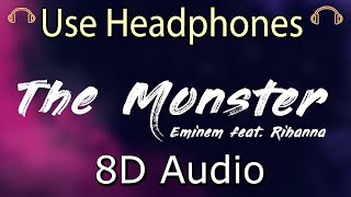 Eminem feat. Rihanna - The Monster (8D AUDIO)PRFFTT & Svyable X Chris Barnhart Remix