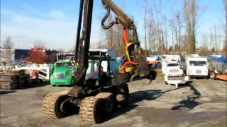 Sold! Timberjack 1270A Log Timber Forestry Tree Harvester bidadoo.com