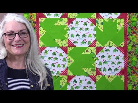 How to Make a Frog Quilt