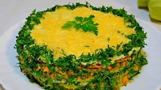 Самое вкуснейшее блюдо из кабачков! Замечательная закуска!/A delicious dish of zucchini