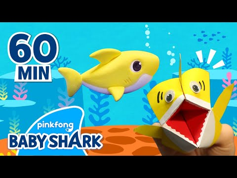 clay-baby-shark-and-more-|-arts-&-crafts-|-+compilation-|-stay-home-with-baby-shark