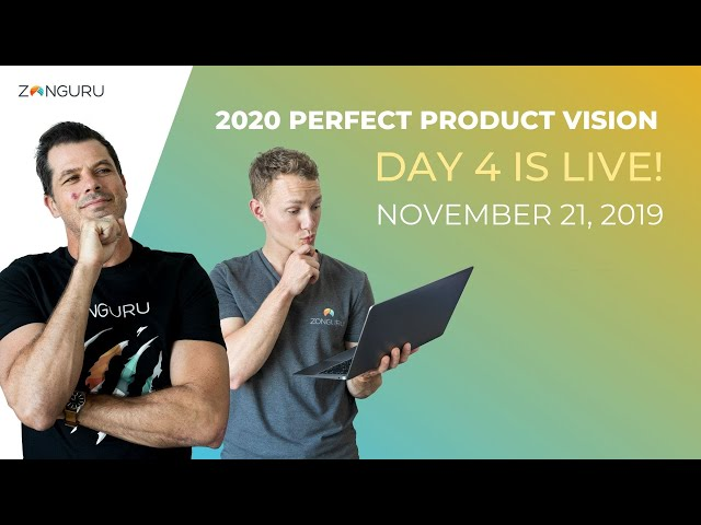 Video 4 of 4 is LIVE! 🔎 2020 Perfect Product Vision #AmazonFBA2020