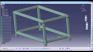 CATIA V5: structure design