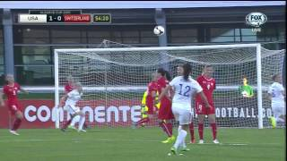 USWNT Switzerland 2015 Algarve Cup Group B Full Game FOX SPORTS USA