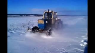ПВМ на Юмз-6Л по снегу.