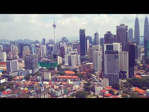 Kuala Lumpur Skyline (2017 The Essence of Asia) Drone Aerial Malaysia Theme Songs