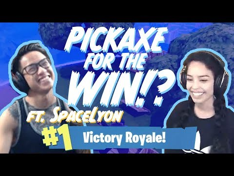 Duo win with FaZe SpaceLyon! Valkyrae Fortnite