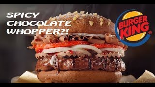 Trying a Burger King Chocolate Whopper?! (Easter / April Fool's Special)