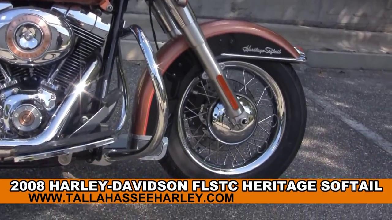 Used 2008 Harley Davidson Heritage Softail Classic 105th Anniversary ...