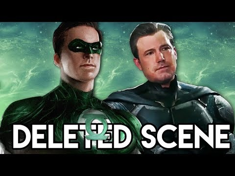 Justice League - Green Lantern DELETED SCENE