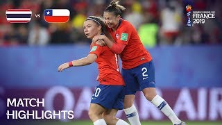 Thailand v Chile - FIFA Women's World Cup France 2019™