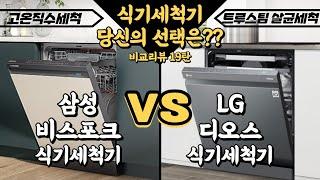 [삼성] 비스포크 식기세척기 VS [LG] 디오스 식기…