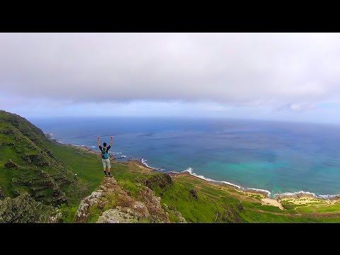 Manini Pali Hike, North Shore, Oahu (GoPro 4 Session)