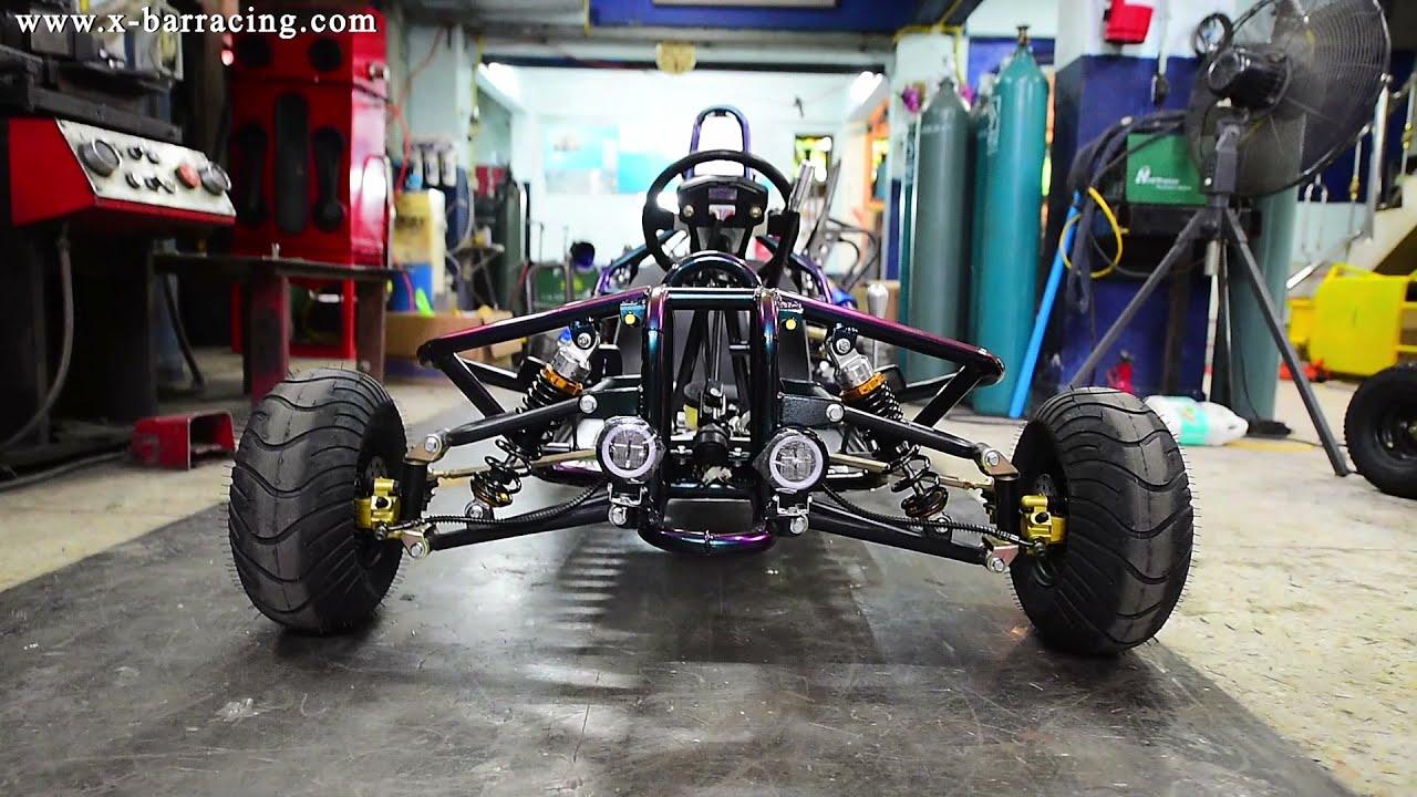 ทดสอบระบบ Gokart Custom Car 2021 รถสร้างเครื่อง 250cc. รับออกแบบ และสร้างรถตามความต้องการเลยคับ