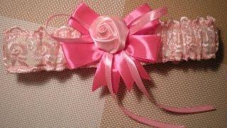 Подвязка для невесты своими руками. Свадьба в цвете Фуксии, часть 3. / Wedding bride