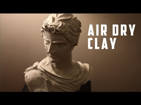 air dry clay sculpting youtube